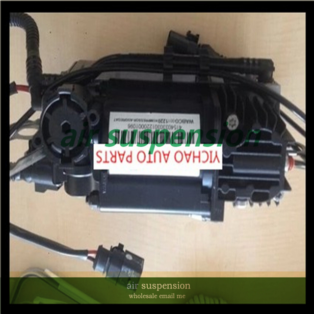 ENVÍO LIBRE Delantero Bomba de Aire Compresor de Suspensión de Aire Para Audi Q7 Luftfederung 4L0698007B 4L0698007A