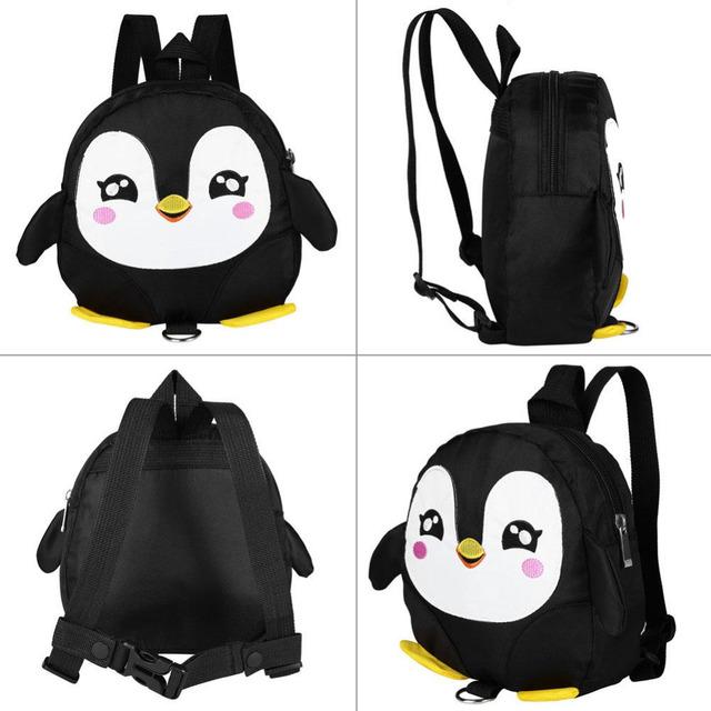 New 3D Cartoon Bag Baby Toddler Anti lost Leash Harness Strap Walker Kids Lunch Box Kindergarten Schoolbag Backpack 9 Style 2018