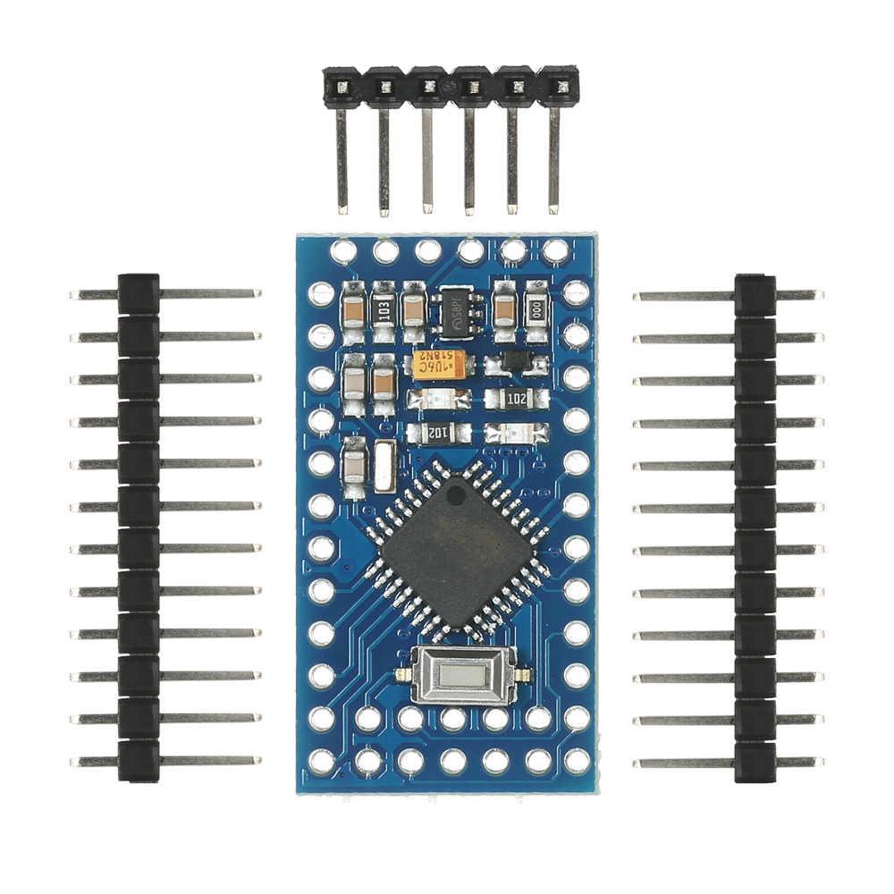 5 قطعة برو صغير ATmega328P 5 فولت 16 ميجا هرتز وحدة تحكم صغيرة لوحة تركيبية لاردوينو مع رؤوس دبوس