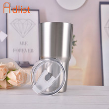 30 Oz Cangkir Perjalanan Stainless Steel Double Wall Vacuum Cangkir Kopi Es Di Luar Ruangan Minum Flask Insulated Termos Bir Air Natal(China)