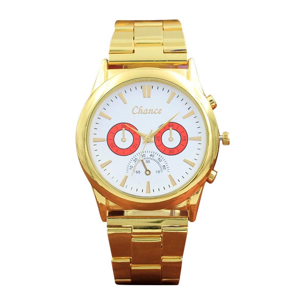 Watches Luxury Ladies Watch Clock Women Stainless Steel Mesh Brand Crystal Golden Analog Quartz Wrist Watch Dress Clock Reloj Mujer #z Convenience Goods
