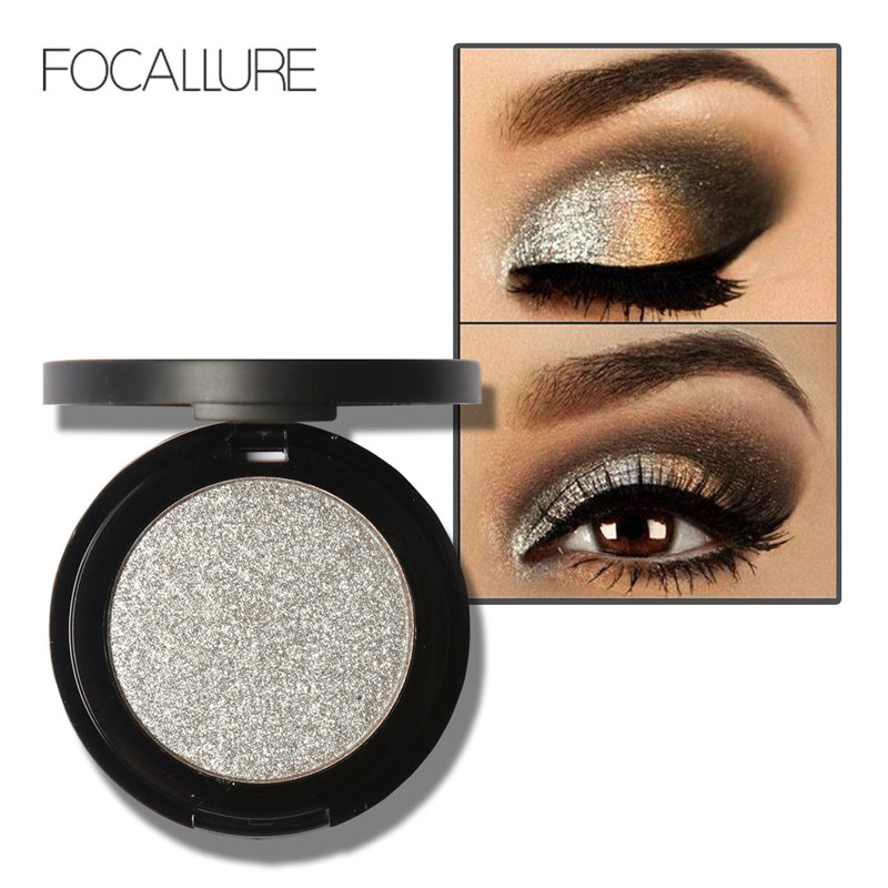 Focallure professional metallic eyeshadow palette makeup matte eye shadow glitter shimmer eyeshadow in eye shadow from beauty health on aliexpress com