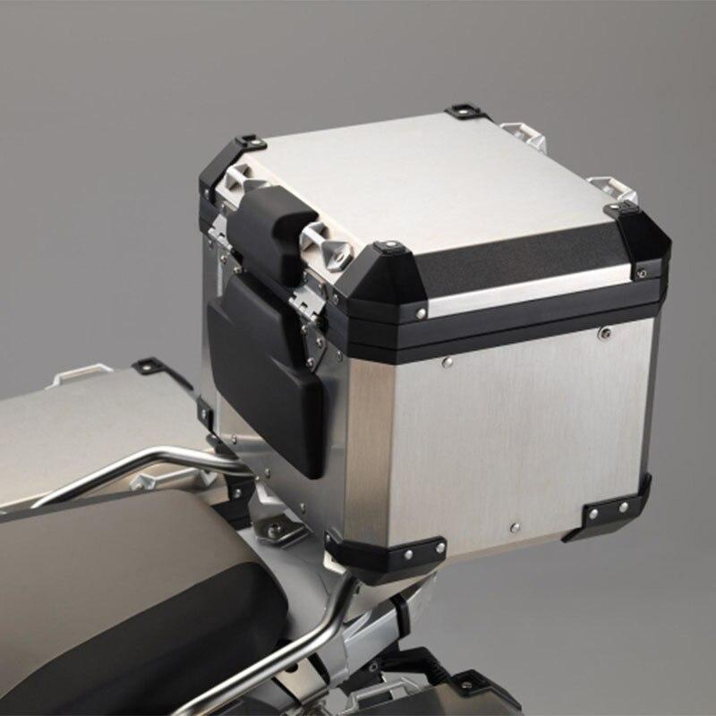 Dosseret passager En Aluminium Top Box Dossier Pad Pour BMW Motorrad R1200GS Aventure F800GS