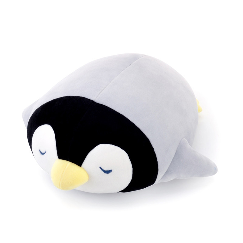 Metoo Plush Penguin Pillow Dolls Soft Stuffed Cartoon Pillow Animal Toys Cushion New Design Gifts for Kids Girls  30*36cm arthur conan doyle the sign of four