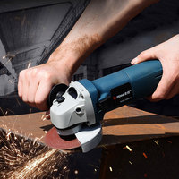 Multifunction Variable Speed Angle Grinder for Grinding Rust Removal Cutting Metal Electric 11000 RPM For High Speed Grinder