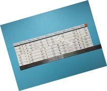 Nouveau Kit de bande de rétro éclairage LED 7LED, 16 pièces, pour Panasonic TV 550TV01 550TV02 V4