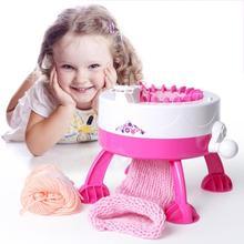 เข็มตำแหน่ง Big DIY มือถักทอผ้า Loom ถักผ้าพันคอหมวกเด็กของเล่นการเรียนรู้เพื่อการศึกษา