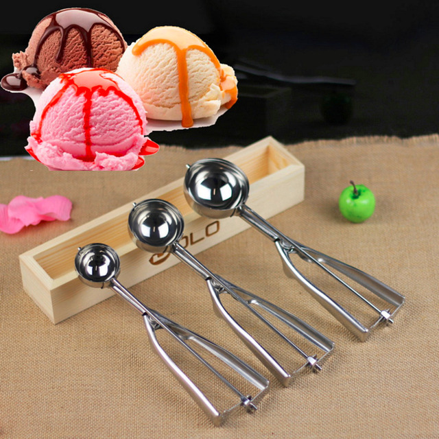 Ice Cream Stainless Steel kitchen spoon