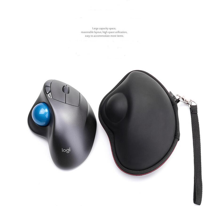 Nueva Funda Rígida Eva Para Logitech Mx Ergo Avanzado Inalámbrico Trackball & Mx Ergo Plus Trackball Mouse-viaje Protector Bolsa De Transporte