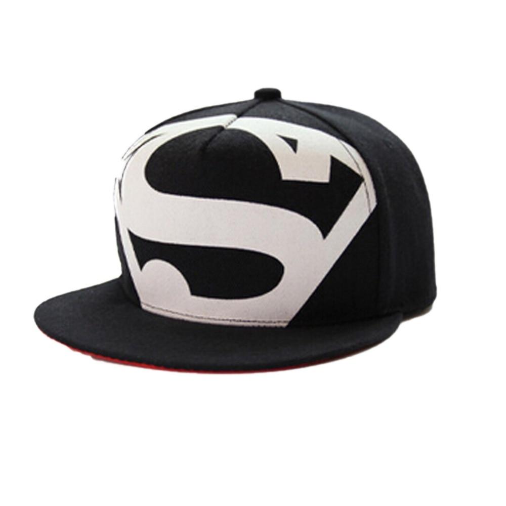 Hot New Arrive Fashion Hip Hop Superman Snapback Caps Hats For Men Women  Summer Casual Baseball c468f3a3a3ec