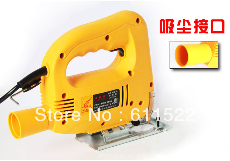 750w jig saw at good price and fast delivery to russia for wood and metal use with 10pcs saw freely wood sander tools 135w sand tools for polishing with 2meter wire vde plug at good price and fast delivery export quality