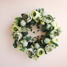 Wedding Christmas Simulation DIY Artificial Flower Garland Wreath Set Door Garland Home Party Garden Decor Wreath Fake Flowers цена и фото