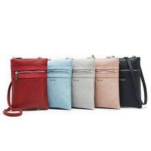 Womens shoulder bag Fashion Tote diagonal  mini casual zipper ladies long mobile phone