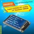 "2.4"" Nextion Enhanced  HMI Intelligent Smart USART UART Serial Touch TFT LCD Module Display Panel For Raspberry Pi  Arduino Kits"