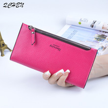 Woman's wallet Long Zipper Luxury Brand Leather Coin Purses Tassel Design Clutch Wallets Female Money Bag Credit Card Holder 496 все цены