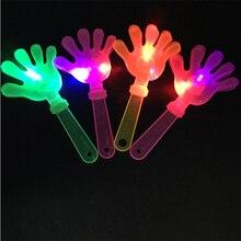12 шт., светильник, игрушки, аплодисменты, реквизит, светодиодный светильник, хлопающие руки, пальмы, детские игрушки, вечерние игрушки, погремушки, пластиковые украшения