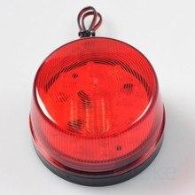 Etiger 2Pcs/Lot Red LED Flash 12V Security Light Alarm Strobe Warning Alert Lamp Singal