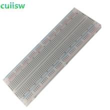 10pcs NEW MB 102 MB102 Breadboard 830Point Solderless PCB Bread Board Test Develop DIY