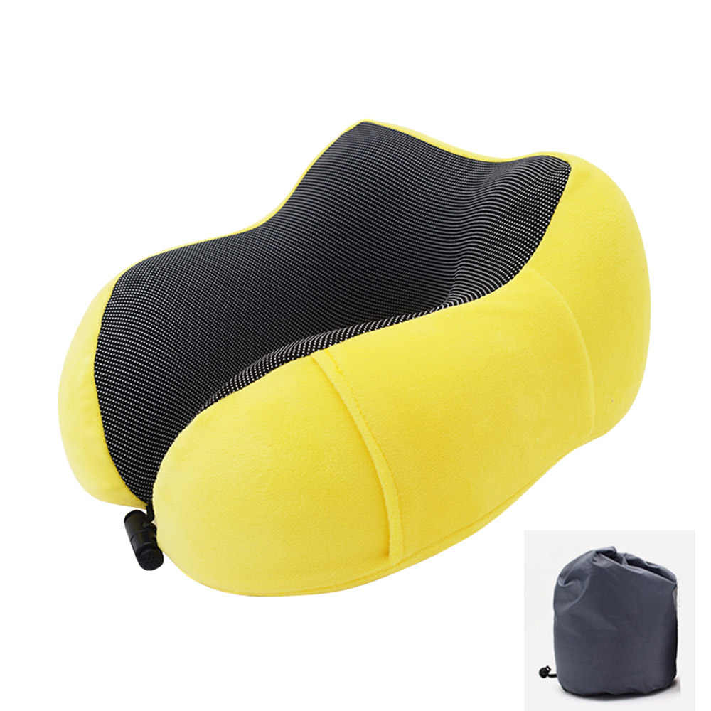 U-Shape Travel Pillow for Airplane Foam Neck Pillow Travel Accessories bed linings Comfortable Pillows for Sleep Home Textile