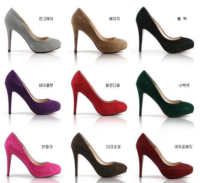 9 colors fashion platform heels, brand high heel shoes sexy high ...