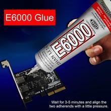 цена на E-6000 15ml, 25ml, 50ml, 110ml Mobile Phone Metal Screen Frame Repair Universal Glue Adhesive For Iphone Xs Xr Max Xiaomi Huawei