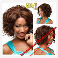 Women Peluca Curly Wig Short Curly Hair Styles Blonde Synthetic Hair Wigs Women Kinky Afro Wig Short Curly Wigs for Black Women