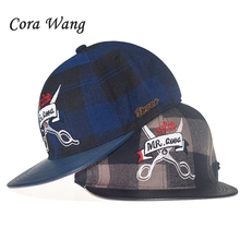 5 panel Plaid baseball caps men women sports hats Scissors pattern Chief  original snapback hip hop 5b0a7e34b16a