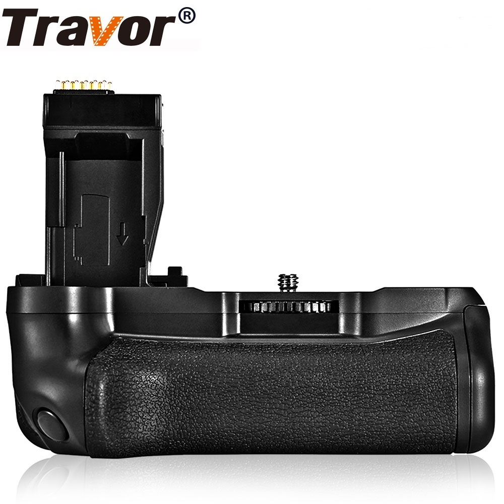 Caméra Travor support de prise en main de batterie verticale pour Canon DSLR 750D T6i 760D T6s X8i 8000D EOS poignée de batterie remplacer BG-E18
