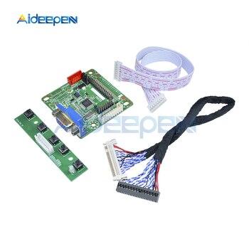 "5V MT561-B placa controladora Universal LVDS Pantalla de monitor LCD 10 ""-42"" partes de computadora portátil DIY Kit módulo de expansión"