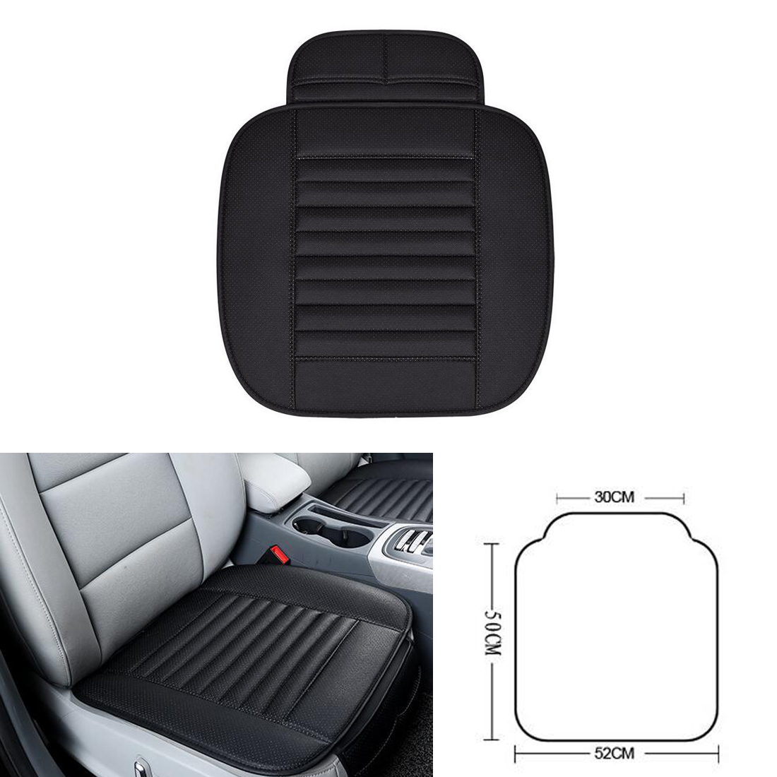 Dongzhen 1X font b Car b font Seat Covers Protector Driver Chair Pad Breathable font b