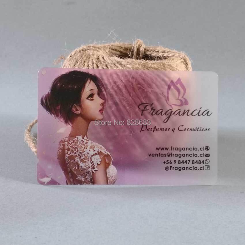 Schöne Mädchen Vorlage Der Bis Translucent Karte Mit Weißer Tinte Drucken Rosa Office & School Supplies Visitenkarten