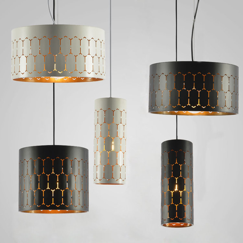 Nordic modern lamp simple cylinder Iron pendant lights restaurant pendant lights bar coffee bedroom study led lamp AP8081733 nordic pendant lights contracted metal led pendant light bedroom restaurant pendant lamp creative wrought iron modern lighting