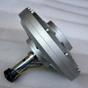 Image 4 - 500W 150 200 350RPM 24 48 96VDC verticale windturbine permanente magneet dynamo coreless huishoudelijke DIY generator motor