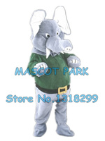Daddy Elephant Mascot Costume adult size high quality cartoon grey elephant theme anime cosply costumes carnival 2973