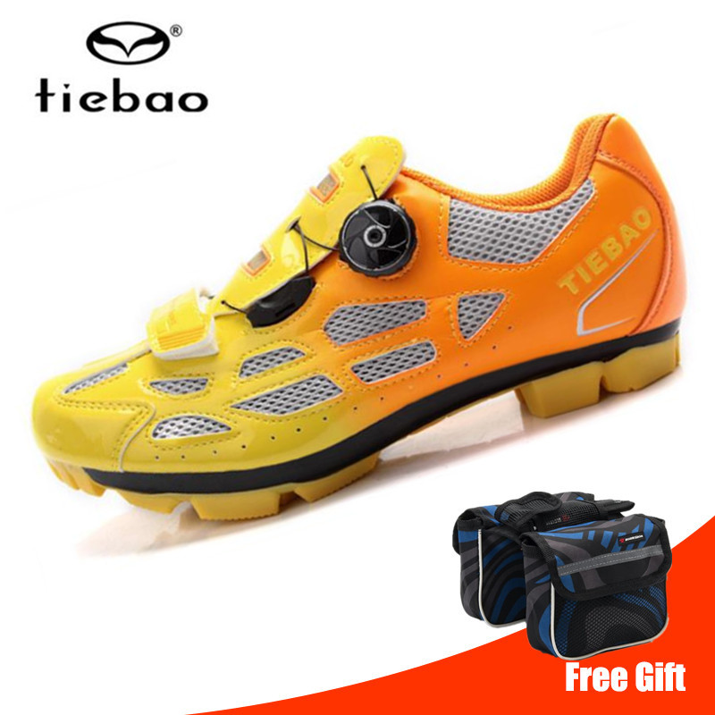 Tiebao Men Cycling Shoes sapatilha ciclismo mtb Mountain Bike Non slip Bicycle Shoes Sneakers zapatos ciclismo