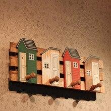 Самые любимые творческие деревянные стены крюк силикона крючки & rails настенные вешалки вешалки украшения дома