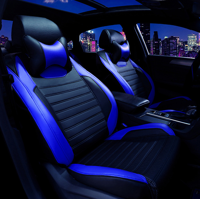 Housses de siège de voiture en cuir spécial pour Volkswagen 4 5 6 7 vw passat b5 b6 b7 polo golf mk4 tiguan jetta touareg accessoires de style