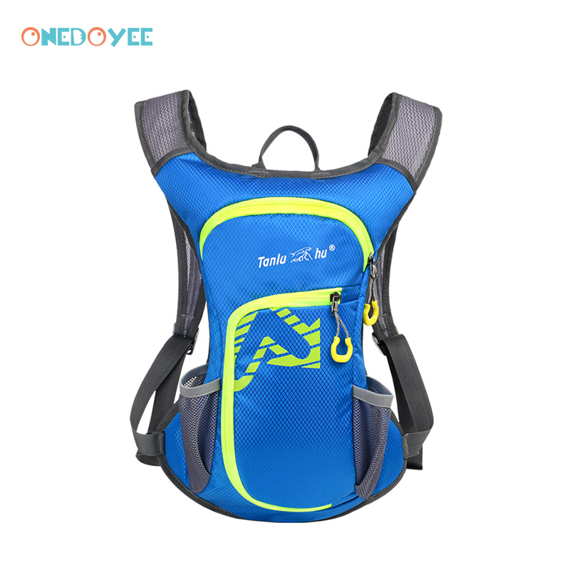 Onedoyee 20L Climbing Backpack Cycling Backpack Unisex Outdoor Nylon Sports Bag Waterproof Backpack with Water Bag for Travel harlem hl1087 outdoor sports tpu backpack water bag dark green 2l