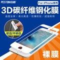 Cubierta completa de 5.5 pulgadas Protector de Pantalla de Vidrio Templado para iPhone7 Plus Súper Dureza de la película Protectora para iPhone7 Plus AntiScratch