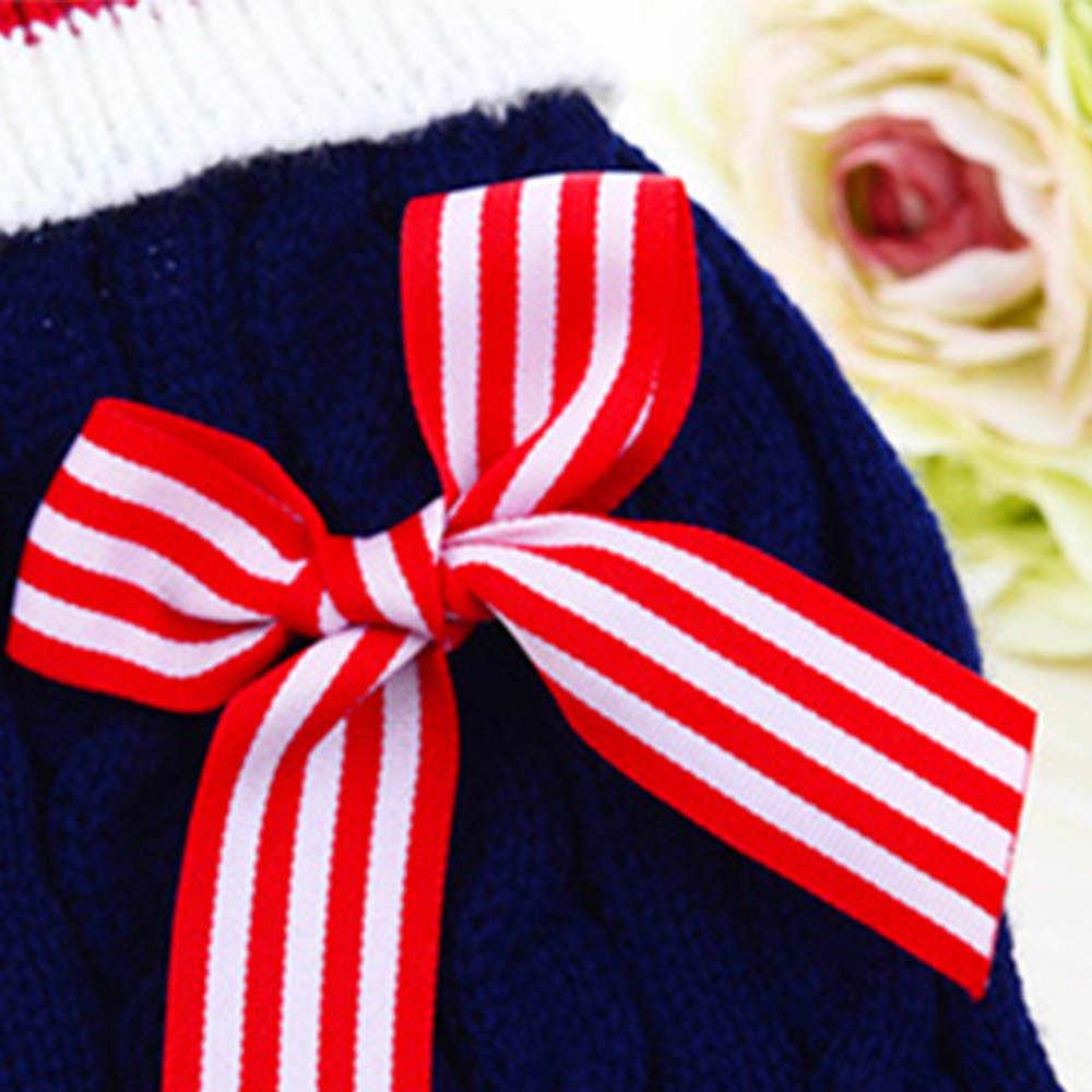 Размер XXS-L свитер для Собаки Одежда для маленьких собак зимние свитера комбинезоны Dec13