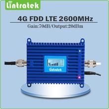 Усиления 70дб 4 Г LTE 2600 МГц Мобильный Сигнал Повторителя 4 Г LTE 2600 МГц (FDD Диапазона 7) сотовый Телефон Усилитель Сигнала/Усилитель с Жк-дисплеем