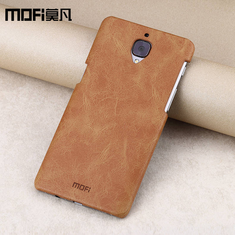 finest selection 2a847 34912 oneplus 3 case MOFi original hard case oneplus 3 cover leather back case  silicon soft tpu fundas A3000 one plus 3 case 3t capas