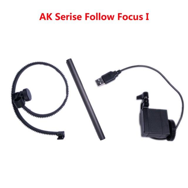 Feiyutech ak série siga foco anel engrenagem dslr câmera ak2000 ak4000 handheld cardan câmera estabilizador estabilizador acessórios