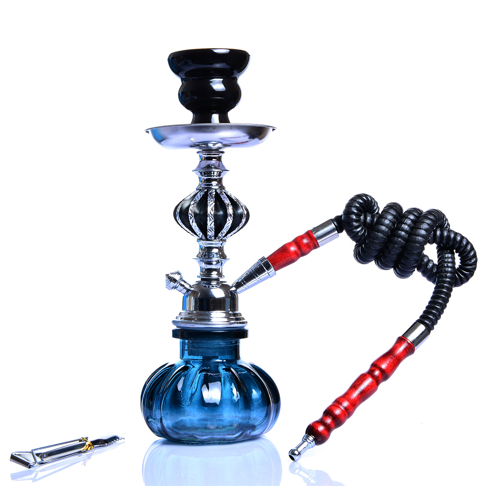 Portable Travel Hookah Small Shisha Pipe Set Nargile Chicha with Narguile Hose Bowl Tongs Charcoal Tray Shisha Accessories