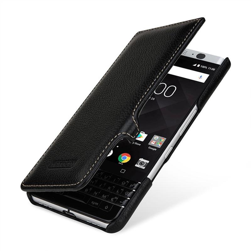 Etui de luxe en cuir véritable de marque Fashion Flip Folio housse de téléphone mince sac pour Blackberry KEYone PRESS pour Black Berry DTEK70 4.5