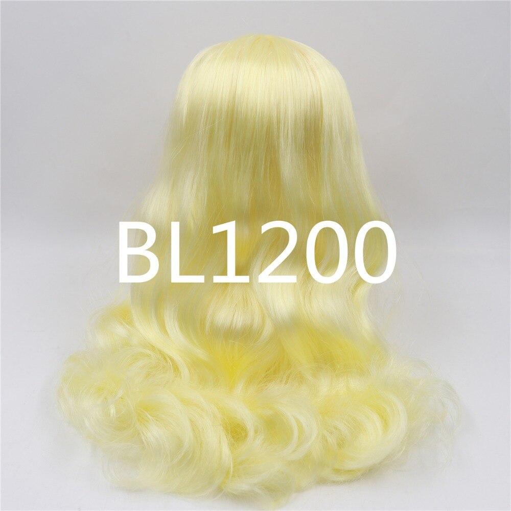 Neo Blythe Doll Yellow Hair with Takara RBL Scalp Dome 1