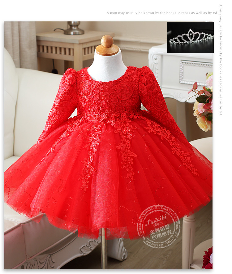 High quality fluffy girl wedding dresses big bow kids girl for Big girl wedding dresses