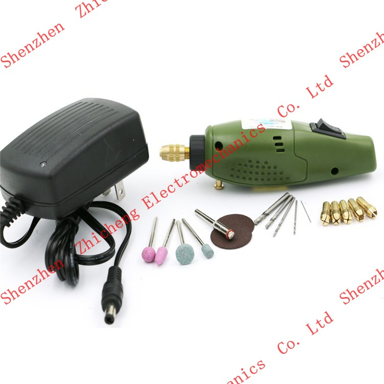 Mini Electric drill  accessories Electric Grinding Set 12V DC Grinder Tool for Milling Polishing Drilling Engraving  цены