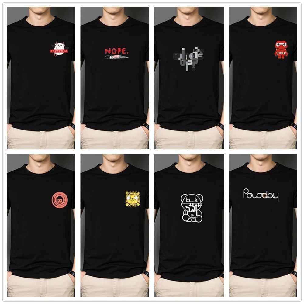 インホット販売プリント Tシャツ男性女性夏のカップルドレスファッション 3D ロゴショート Tシャツ O ネックプラスサイズ 4XL tシャツトップス