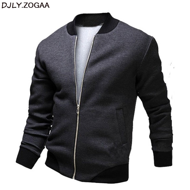 Men Autumn Jacket Coats Cotton Zipper Plus Size Jacket Baseball Casual Man Outwear Padded Parka Male Warm Coat Brand Slim Cloth